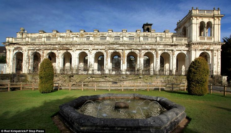 What remains of 180-year-old Trentham Hall is at risk of falling into ruin after developers say £35million restoration costs are too much to make it viable