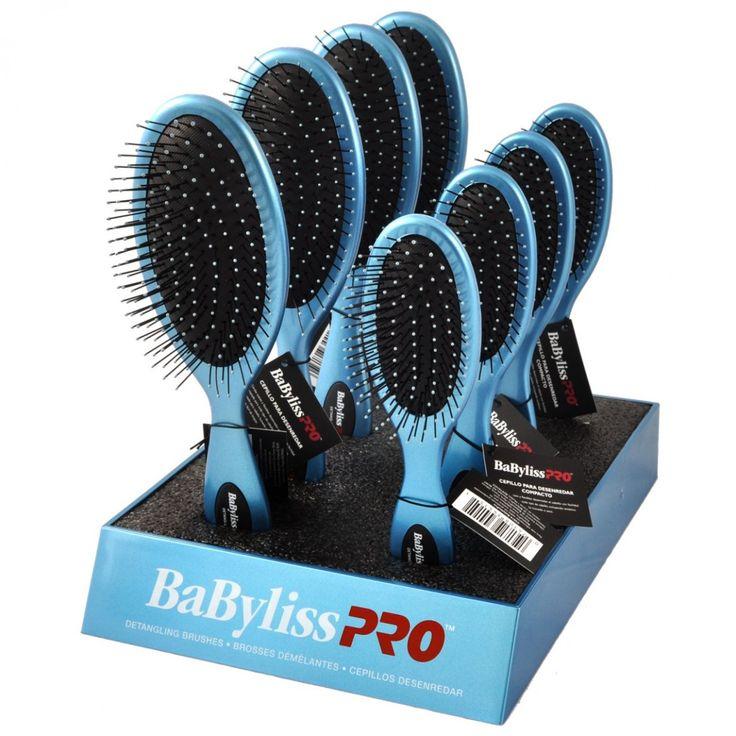 #Sabíasque ? La excelente marca BaByliss PRO te trae los nuevos cepillos desenredantes, con cerdas suaves y flexibles que desenredan el cabello. Para todo tipo de cabello, incluyendo sintético, y para usar en húmedo o seco. Cepillo Pequeño - Cód. SUPER SALON 814415/ Cód. Barras 074108344151 Cepillo Grande -Cód. SUPER SALON 81446 / Cód. Barras 044108344168