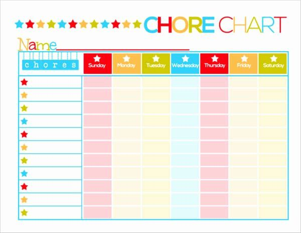 40 Daily Schedule Template For Kids In 2020 Printable Chore