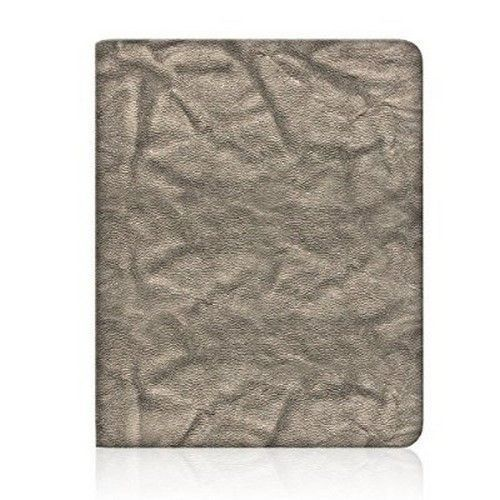 Apple iPad Mini 1/2/3 by Nicole Miller Slim Hard Snap-on Portfolio Case Silver #NicoleMiller