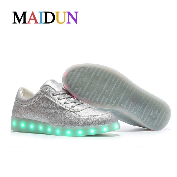 Aliexpress.com : Buy 2017LED shoes man colorful stefan janoski light up neon stansmith man