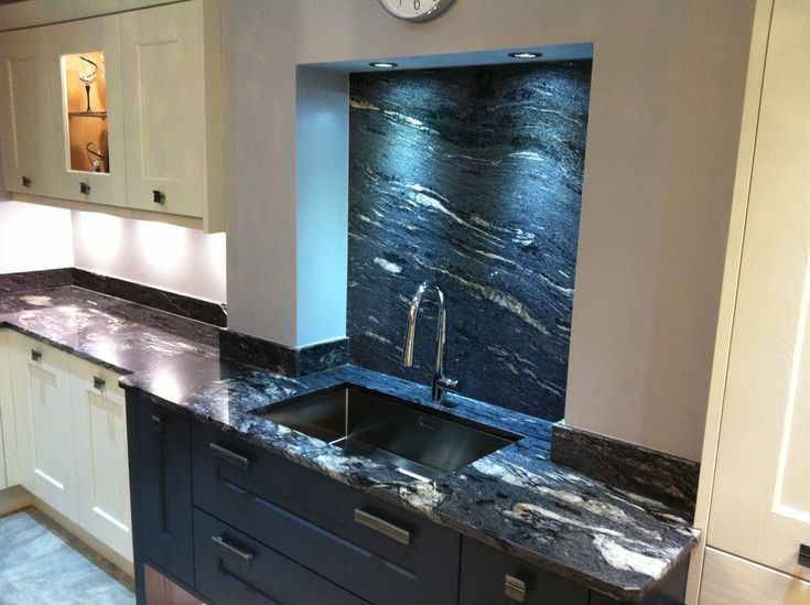 Granite worktops in newcastle stone type is cosmic black for Kitchen designs newcastle