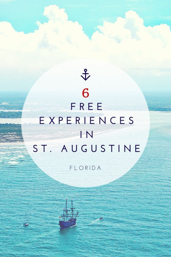 Free Things to do in St. Augustine, Florida