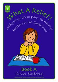 From one of our best selling authors, Rachel Goodchild - What a Relief is a two-book photocopiable series that provides whole days of ready-to-go resource materials which you can copy and leave for relieving teachers when you are absent from class. Over 50 photocopiable pages in each book. Suitable for junior classes.