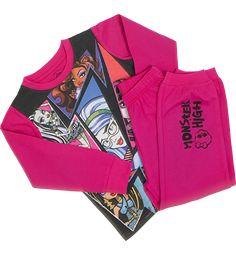 MONSTER HIGH -pyjama 128/134 cm (8-9-vuotiaille)