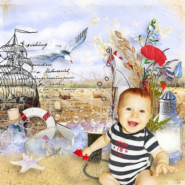 Layout by KittyScrap using The Countryside by the Seaside by KittyScrap https://scrapbird.com/designers-c-73/kittyscrap-c-73_253/mini-kit-the-countryside-at-the-seaside-by-kittyscrap-p-18684.html