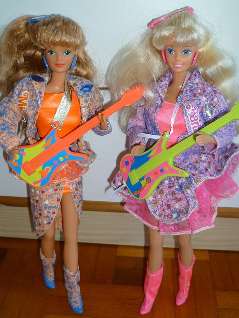 Barbie + Midge And The Beat/Disco 1989 by Patty Is Totally Addicted To Barbie, via Flickr