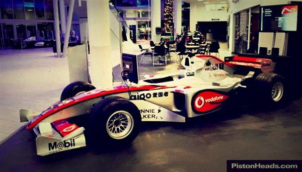 Found for Sale – Full size 2008 McLaren F1 simulator