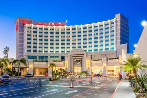 Crowne Plaza Los Angeles-Commerce Casino - Attenant au casino de Commerce, cet hôtel de Commerce, en Californie, est situé à moins de 13 km du centre-ville de Los Angeles. Adresse Crowne Plaza Los Angeles-Commerce Casino: 6121 East Telegraph Road CA 90040 Commerce (California)
