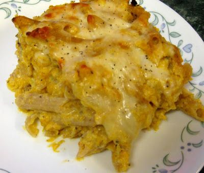 Debbi Does Dinner... Healthy & Low Calorie: Cheesy Butternut Squash Baked Ziti