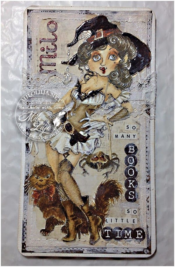 Sparkle and Glitter the Rick St Dennis EDT Blog: A bookmark for me colored by Milo Lilja; Feb 2014