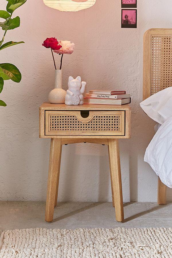 Marte Nightstand Modern Bedroom Set Minimalist Bedroom Design