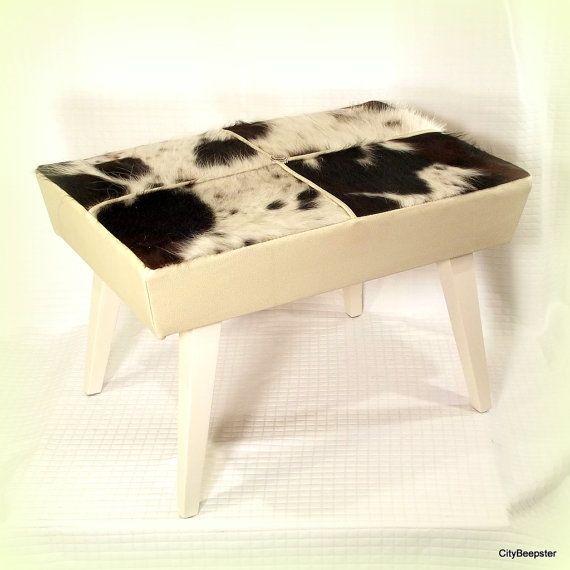 Mejores 18 imágenes de Cowhide Furniture en Pinterest | Muebles de ...