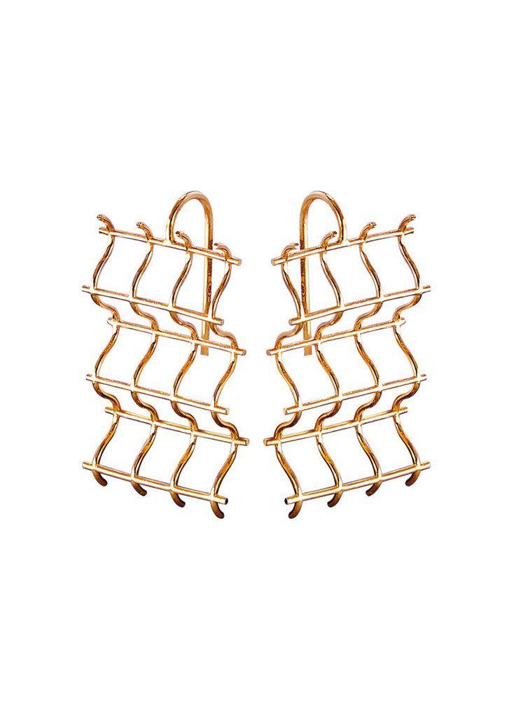 Criss Cross Hook Earrings by SMITH/GREY