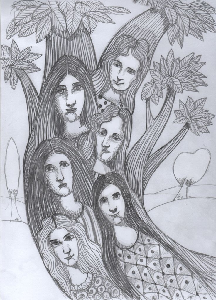n Greek mythology, dryads were nymphs associated with oaks. According to an ancient legend, each dryad was born along with a certain tree, from which it exhaled. The dryad lived on or near the tree. When his tree was cut off or dead, the deity also died. The gods often punished those who destroyed a tree…