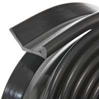 Frost King G16 Nail-On Rubber Garage Door Bottom Seal, 2-1/4-Inch by 16-Foot, Black by Frost King. $11.19. From the Manufacturer                Frost King nail-on rubber garage door bottom seal cushions overhead garage doors as it seals out dust, drafts, dirt water and insects. It is specially designed channel shape compensates for uneven concrete door or uneven doors. It is made for use on wooden doors and comes in sizes for one and two car garages               ...