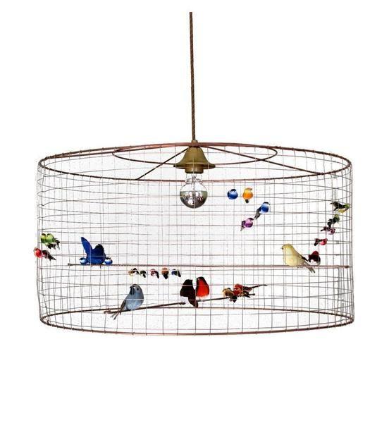13 best bird cage chandeliers images on pinterest la volires birdcage pendant lamp large mozeypictures Image collections