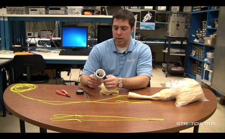 How to prepare a weather balloon for launch
