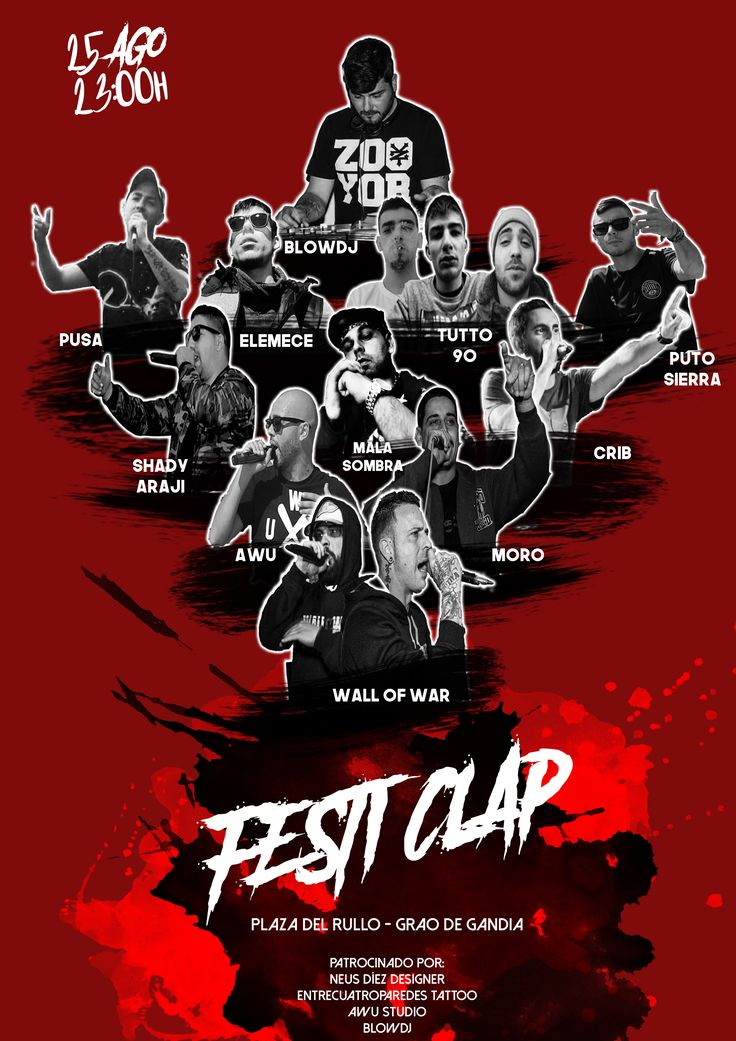 Cartel para concierto de Rap!  #flyer #designer #design #graphic #graphicdesign #diseñografico #diseñador #póster #cartel #hiphop #art #arte #oldschool #Rap #conciertos #Marketing #conciertorap #90s