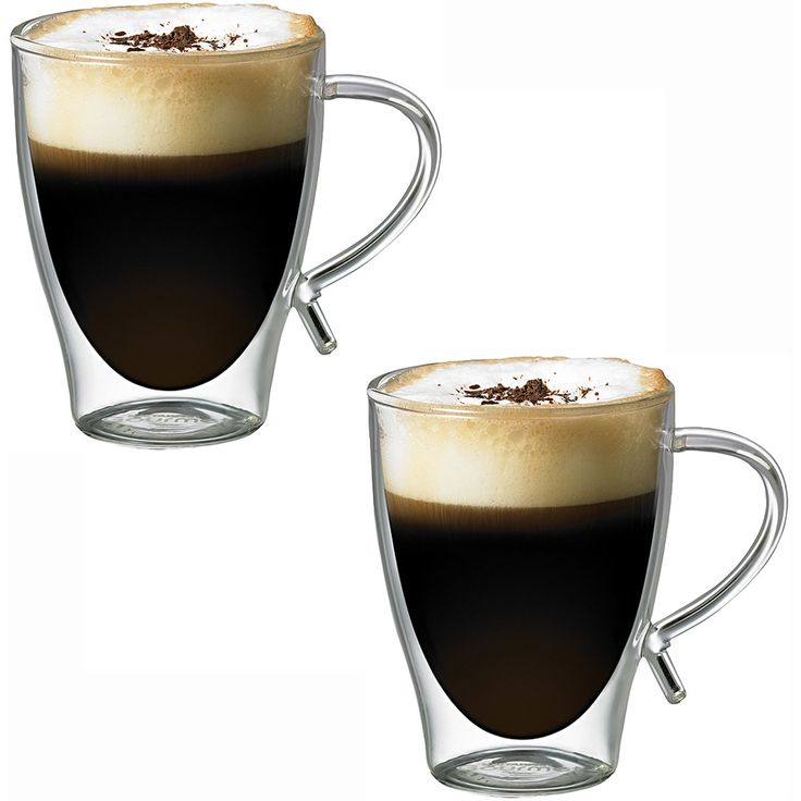 Irish Coffee Gl 2 Dual Handled Drinking Glassware Set
