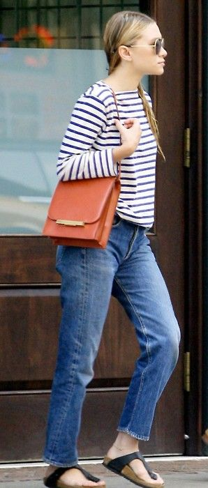 if an Olsen can wear Birkenstocks, then by golly so can I.: