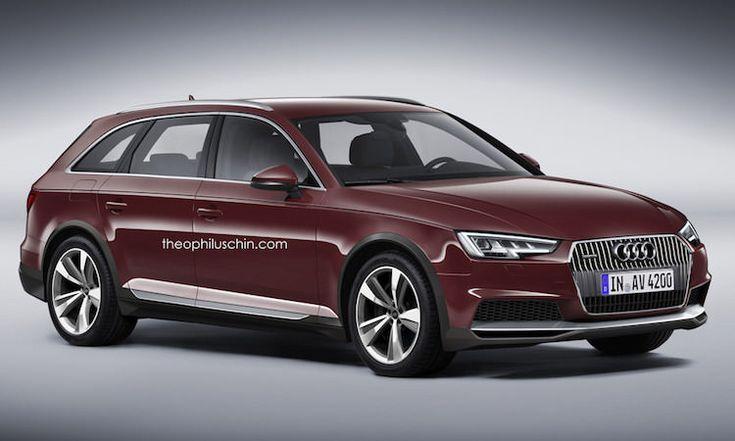 Proposition d'un blogueur pour l'Audi A4 Allroad 2016 qui pourrait être présentée dans les semaines à venir afin de remplacer l'ancienne version