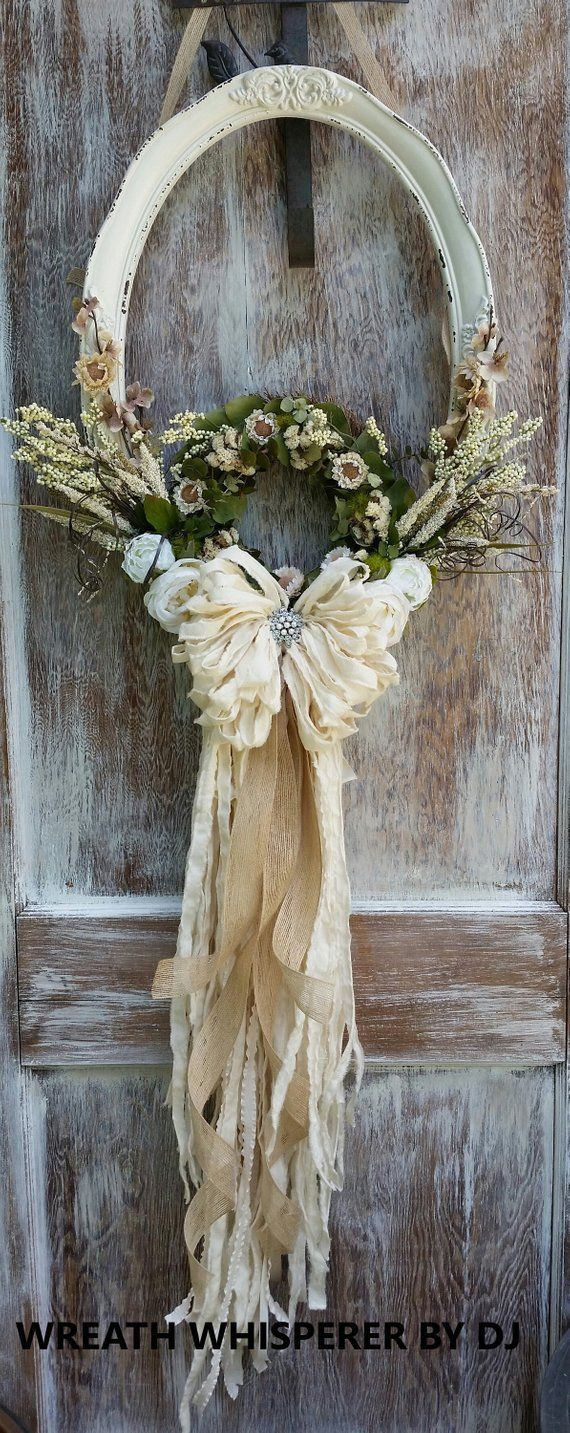Sharing a wreath by Wreath Whisperer by DJ See more at the Trendy Tree Blog #…