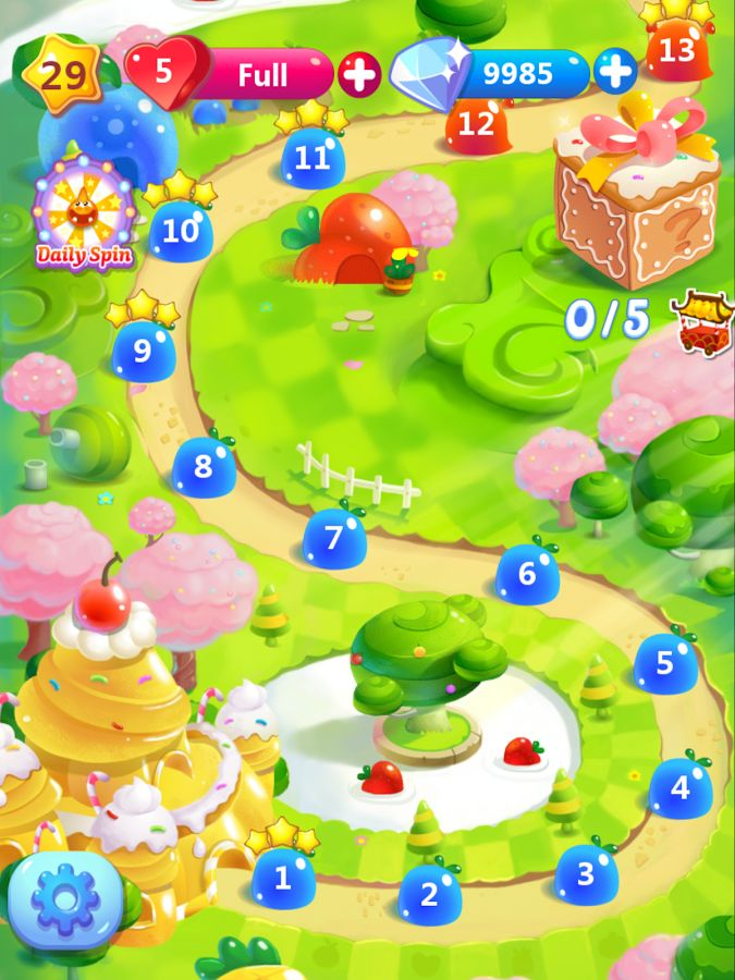 cookie jam map - Google Search