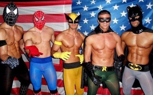 sexy news blogging superheroes