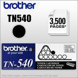 Brother - TN540 High-Yield Toner Cartridge - Black