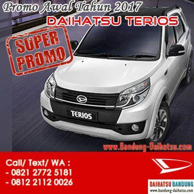 Promo Awal Tahun 2017 Kredit DP Ringan Daihatsu Terios Bandung. Sales: 082127725181