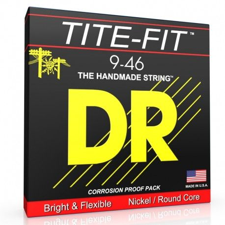 DR Strings TITE-FIT 9-46