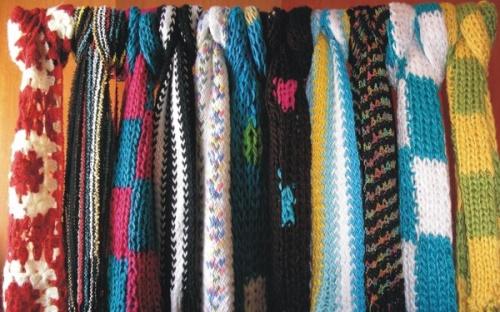 Mejores 10 imágenes de Bufanda en Pinterest   Cuellos tejidos, Punto ...