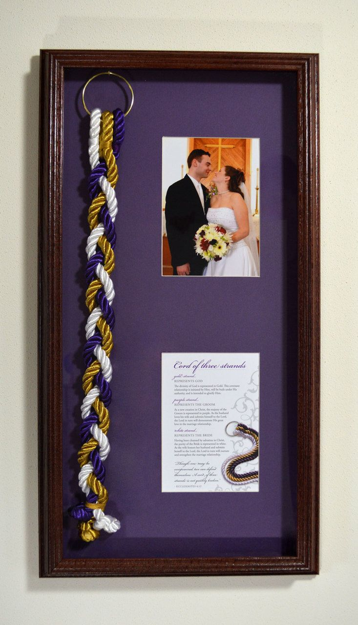 God's Knot - Cord of Three Strands Shadow Box (http://www.godsknot.com/collections/shadow-box/products/cord-of-three-strands-shadow-box) #GodsKnot