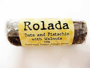 Rolada - Date and Pistachio 250g  buy online at Jo-Ann & May's Online Gourmet Food www.jomaysgifthampers.com.au