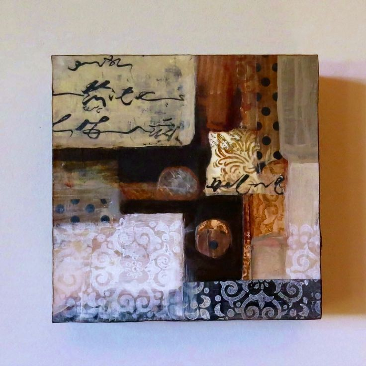 """""""Not Me"""" - mixed media collage - Trudi Sissons"""