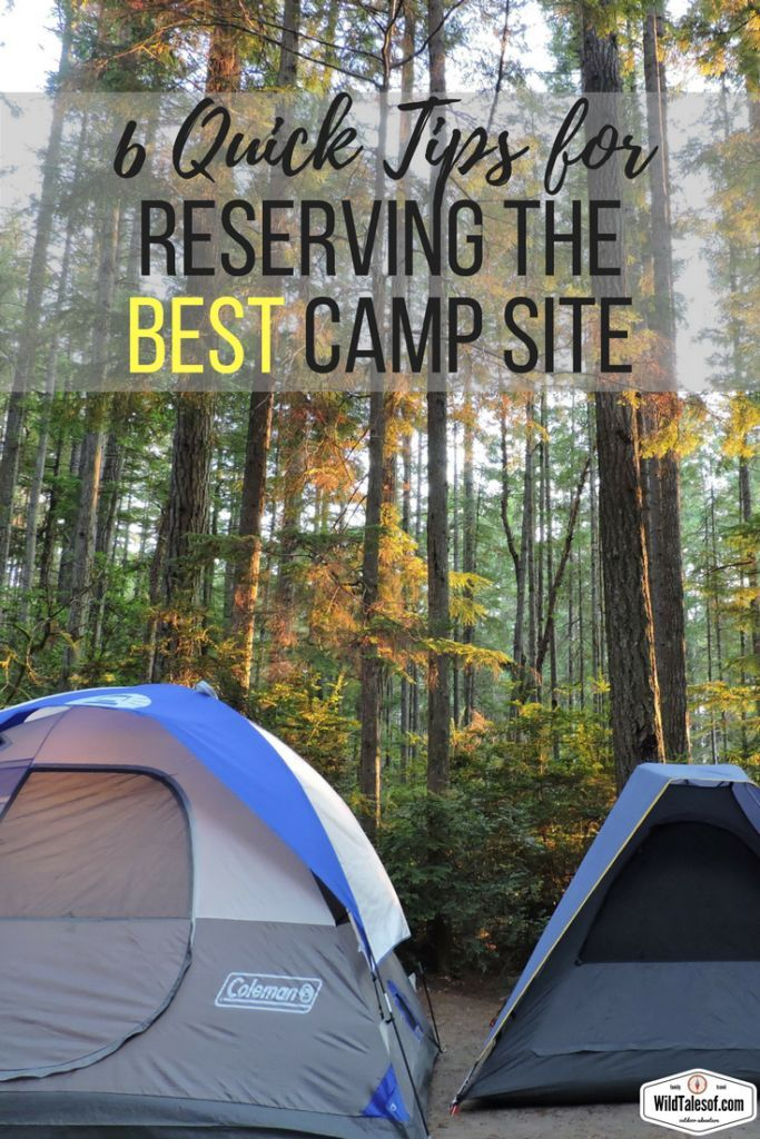 Travel Planning: 6 Tips for Making Camping Reservations
