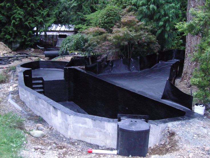 25 best ideas about koi pond kits on pinterest pond for Koi pond liner