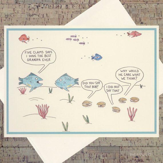 Funny Birthday Card Grandpa Birthday Card by WhatACardCards