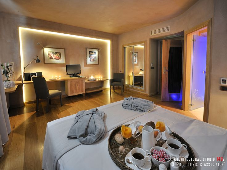 Bedrooms _ room | hotel | Pelion | interior design | lighting | stone | renovation | reuse | modern | traditional architecture | Portaria | construction _ visit us at: www.philippitzis.gr