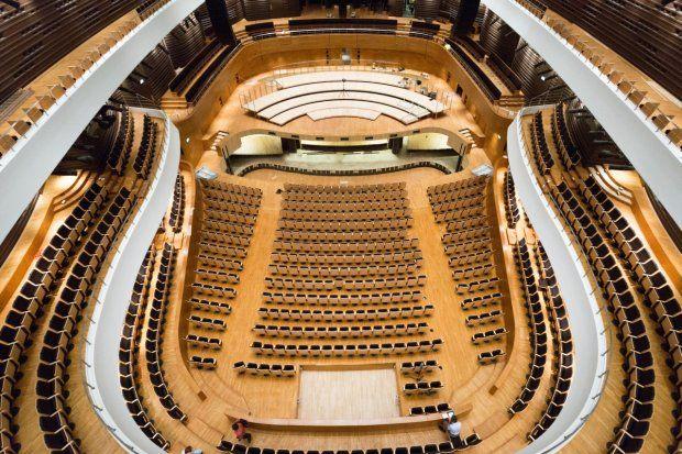 Imponujące Narodowe Forum Muzyki