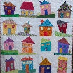wonky houses