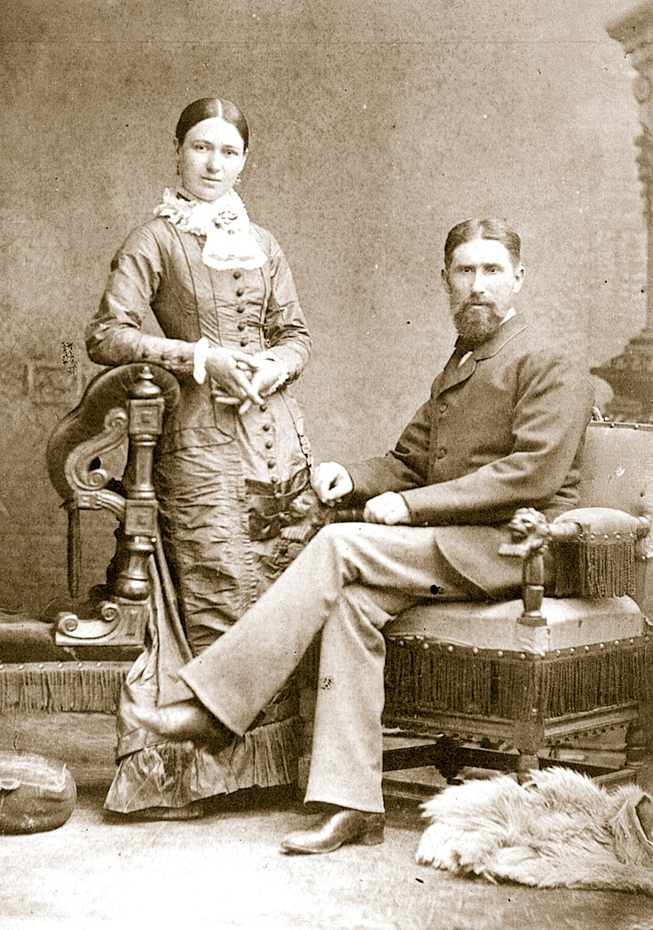 The wedding portrait of Constable Robert Graham and Mary Kirk symbolises the end of the Kelly rebellion. Graham gained the trust of Mrs Kelly and her family, to become a respected member of the community. The Grahams' first child was born at Greta.