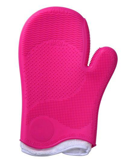 My Makeup Brush Set Pink Makeup Cleaner Glove | zulily