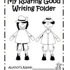 This file includes printables to help your students create a writing folder.  I create writing folders by stapling together two pocket folders that...
