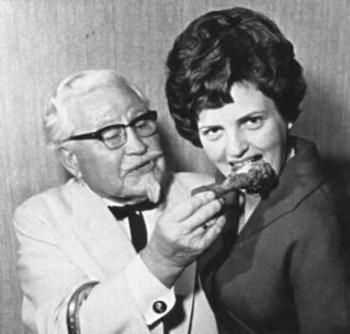 this was one of the first ads for KFC.... interesting