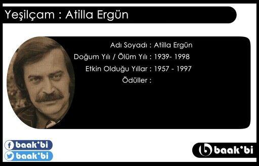 Atilla ergun(d.1939 1998)