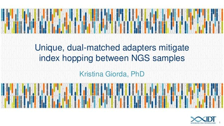The increasing throughput of NGS platforms has fueled the demand to sequence many samples in parallel, also referred to as multiplex sequencing. During multipl…