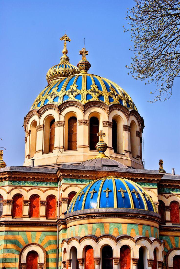 Orthodox Church in Łódź, Poland