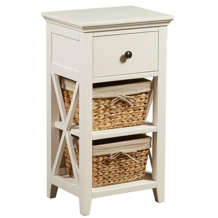 1000 ideas about basket bathroom storage on pinterest - Bathroom storage cabinet with baskets ...